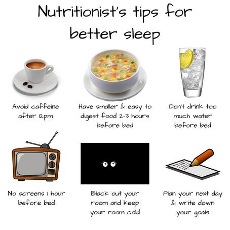 Nutritionist Tip for Better Sleep