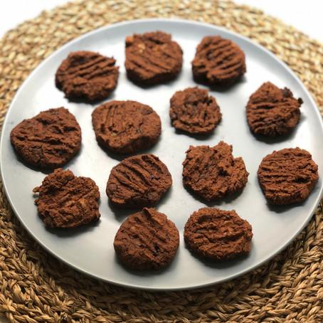 Chocolate & Chickpeas Cookies