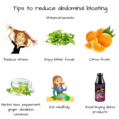 Tips to reduce bloating
