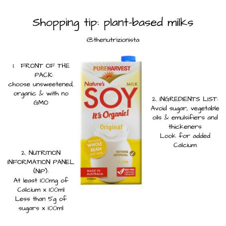 Shopping tip: Plant-based Milks