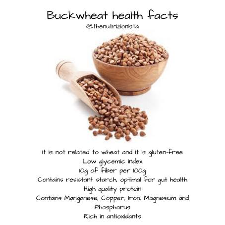 Buckwheat Health Facts