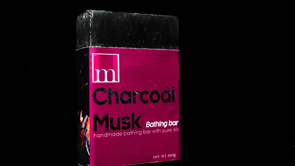 Charcoal Musk Bathing Bar