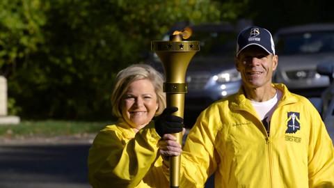 Indiana's Bicentennial Torch Relay