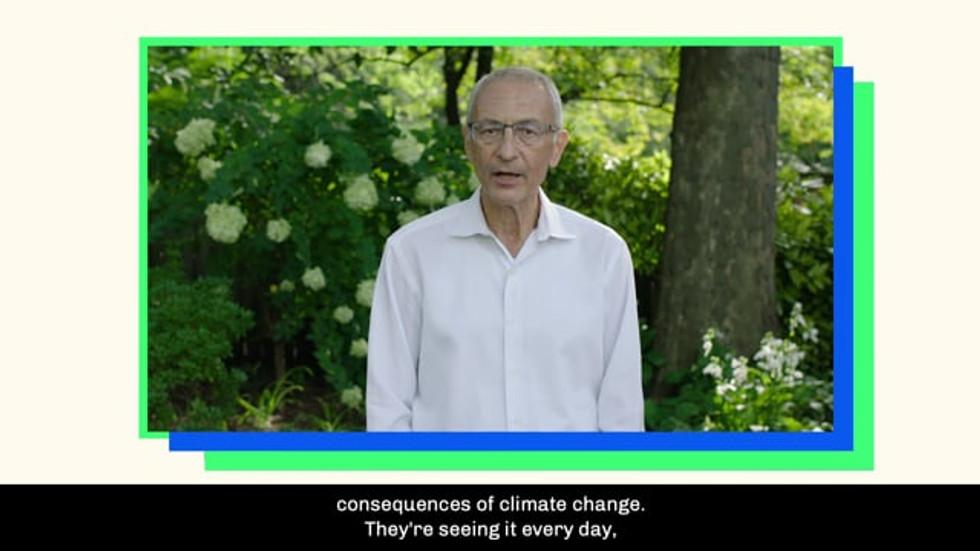 John Podesta Climate Power 2020
