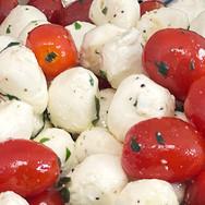 Fresh Baby Mozzarella Salad