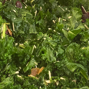 Kale Cranberry & Almond Salad