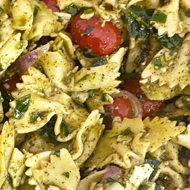 Bowtie Pesto Salad