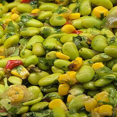 Edamame & Roasted Corn Salad