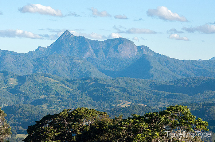 View of Mt Warning from Balcony