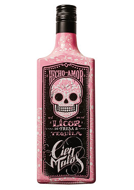 Cien Malos Strawberry Tequila 0,7 l
