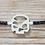 "Thumbnail: Armband ""Solo"" im scull-art Design"
