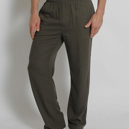 Hemp/Bamboo Elastic waist Pants