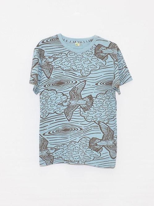 Bird Print Men's Tee