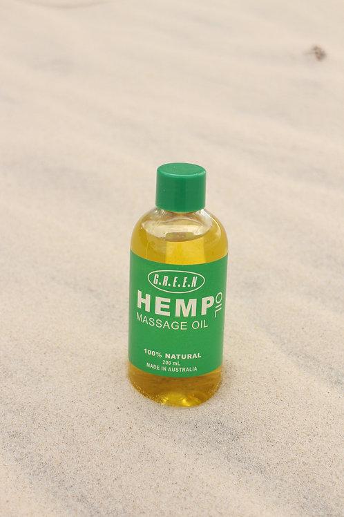 Green Hemp Masserge Oil