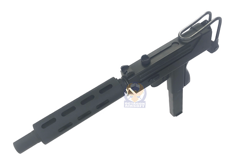 FCW Gangsters Style Suppressor for M11A1 GBB (BK)