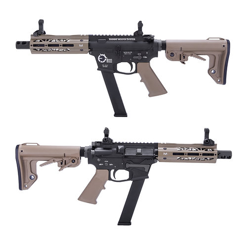 King Arms TWS 6 inches M Lok 9mm Carbine GBBR DE