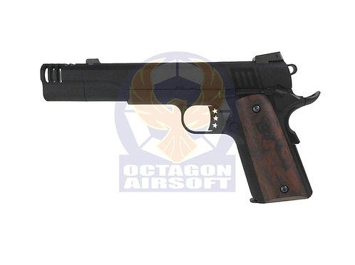 Armorer Works (WE) NE3102 Black 1911 Long Com GBB Pistol