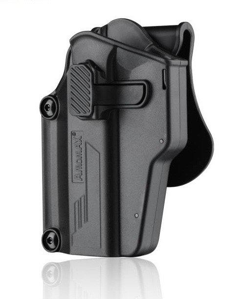 Amomax PRE FIT Holster Black LEFT (1911, M9, Glock,AAP01...etc)