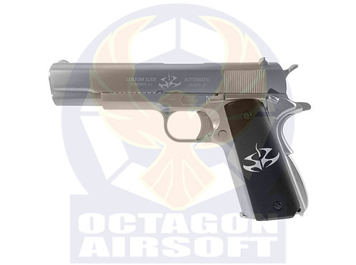 FCW Hitman Agent 47 GBB Pistol with Kimpoi Hand Carved Wood Grip