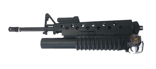 FCW M16A3 Gas Launcher Kit For MWS GBBR (Laser Marking, Outer, Front Sight)