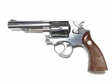 Marushin M10 4 inches Gas Revolver Silver Version