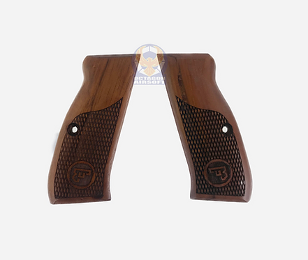 Kimpoi Hand Carved Wood Grip For WE HP & HP MK3 GBB P成芝