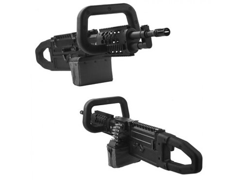 MUGEN FIRE - CUSTOM ChainSAW Zombie Killer Conversion Kit for Ares LMG