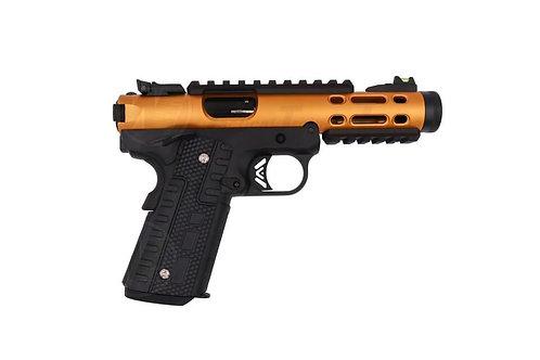 WE Galaxy 1911 GBB Pistols Gold Slide / Black Frame