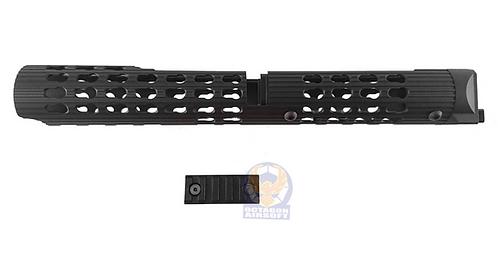 TWI VS-24 Keymod Aluminum Handguard For AKM, AK74 (BK)