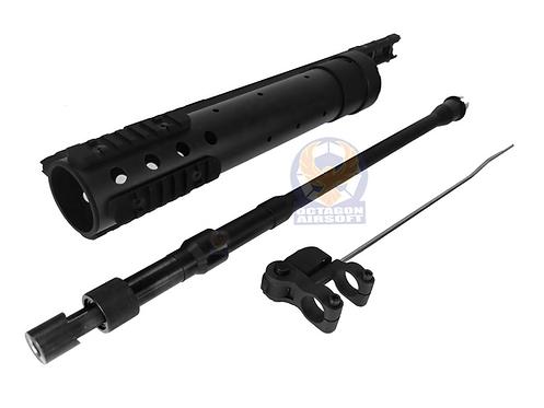 FCW Carbon Fiber MK12 Mod SPR Rail System For AEG