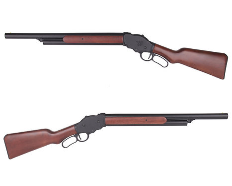 S&T M1887 Lever Action Shell Ejecting Gas Shotgun Real Wood Long