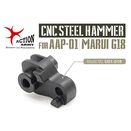 Action Army AAP01 CNC Steel Hammer U01-017
