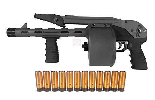 Striker 12 Toy Gas Shotgun 6MM Airsoft  PPS Version BK
