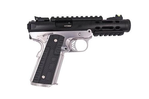 WE Galaxy 1911 GBB Pistols BK Slide / SV Frame