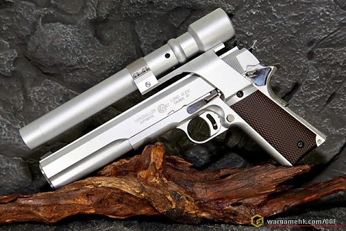Mafioso AMT Hardballer GBB Pistol Full Set With Laser Sight