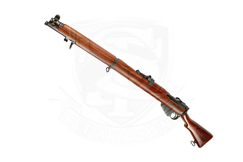S&T Lee Enfield No.1 MKIII Air Cocking Real Wood Rifle