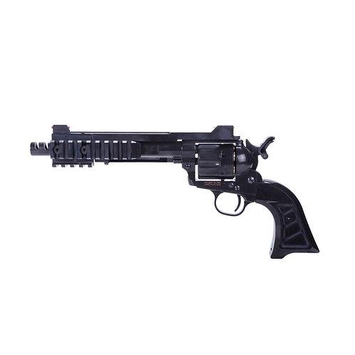 King Arms SAA.45 Devil Cyberpunk Revolver Black