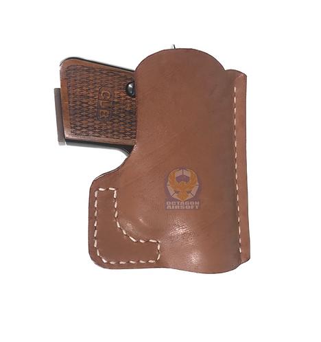 FCW Flintlock Custom Workshop CT25 Handmade Leather Holster