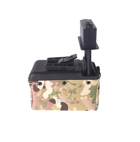 A&K M249/LMG Sound Control Box Magazine 1500rds MC