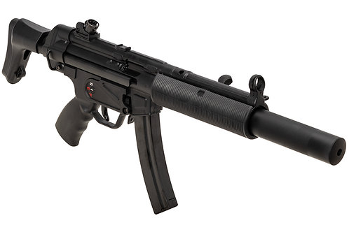 SRC MP5SD CO2 SMG Rifle (Black, Steel Receiver) COB-415TM International Version