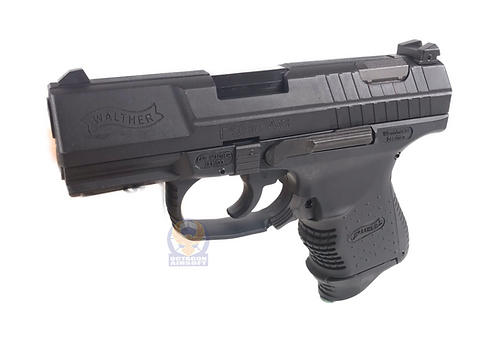 FCW P99 Compact GBB Pistol with Full Marking Custom Black (WE BASE)