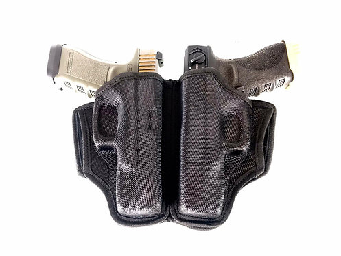 FCW Nylon Dual Holster For Glock Type A