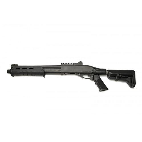 Dominator DM870 Shell-Ejecting CO2 Shotgun(6-Position Stock,BK)