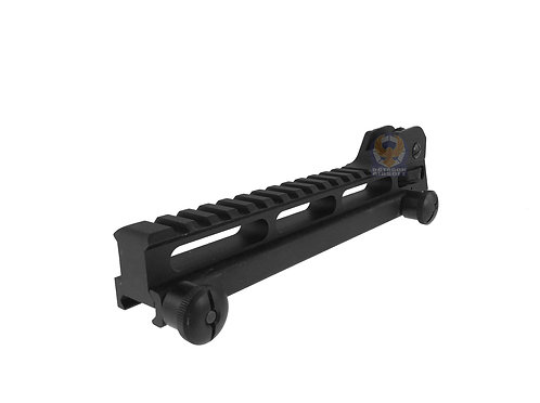 Classic Army A280M Rail Mount Base With Rear Sight Long For SR25/M110/AR