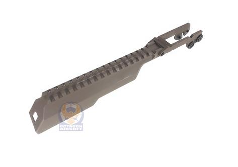 TWI B33 Zenitco Aluminum Rail Cover For Marui AKM GBBR Version DE