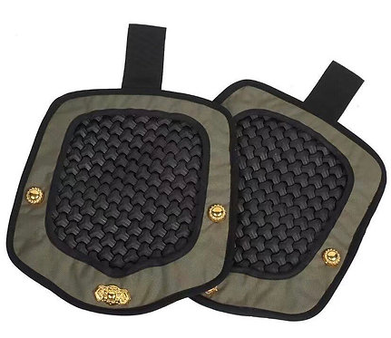 FCW Samurai  Style B Shoulder Pad Set (BK Armor Scales With RG Pad)