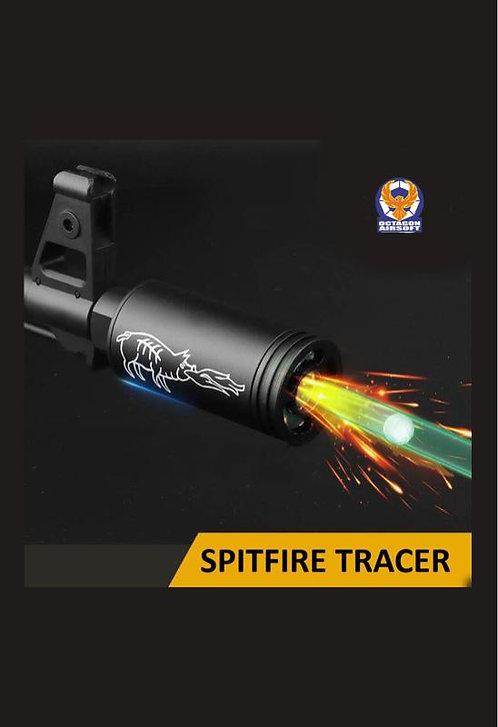 FCW 14mm CCW Spitfire Tracer Silencer (Smoke and Frame Likely Effect)