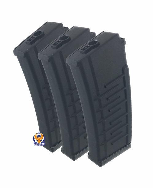 AY VSS/VAL AEG 250rds Hi-cap Magazine 3pcs Set