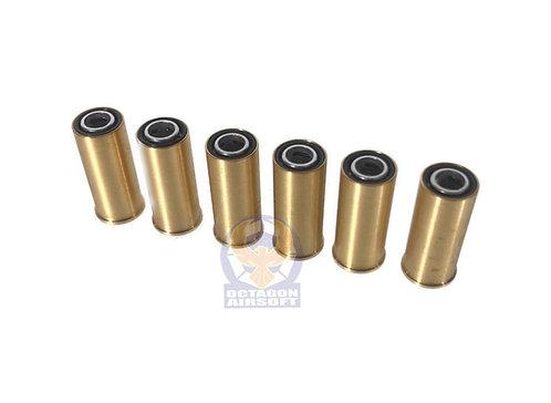 FCW 6pcs Gas Cartridge Set For Tanaka SAA Casyopea System Gas Revolvers