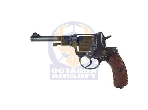 Gun Heaven 721 Nagant M1895 4 inch 6mm Co2 Revolver M1939 Marking Weathered)